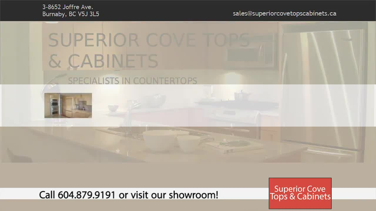 Superior Cove Tops Ltd - Kitchen Cabinets - 604-879-9191