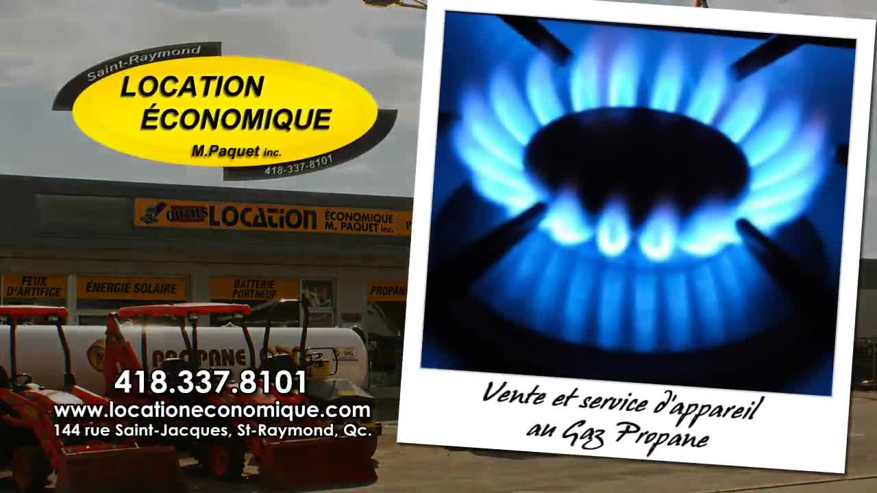 Location Économique / Équipements Paquet - Service de location général - 418-337-9405