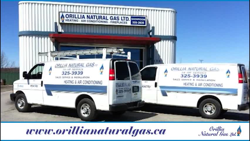 Orillia Natural Gas Ltd - Heating Contractors - 705-325-3939