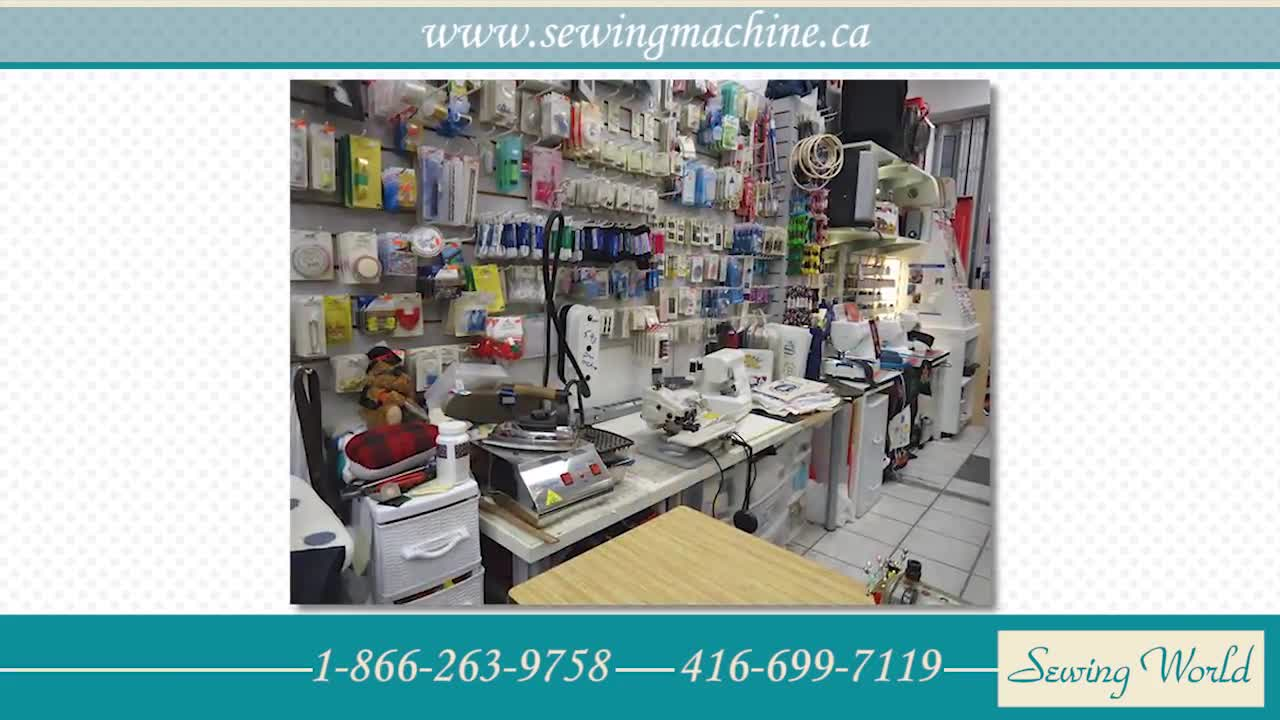 Sewing World - Sewing Machine Stores - 416-699-7119
