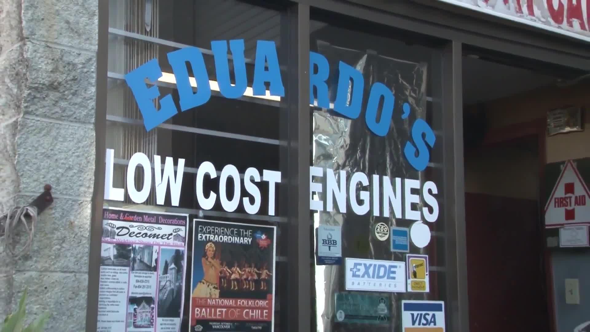 Eduardo's Low Cost Engines - Auto Repair Garages - 604-367-9031