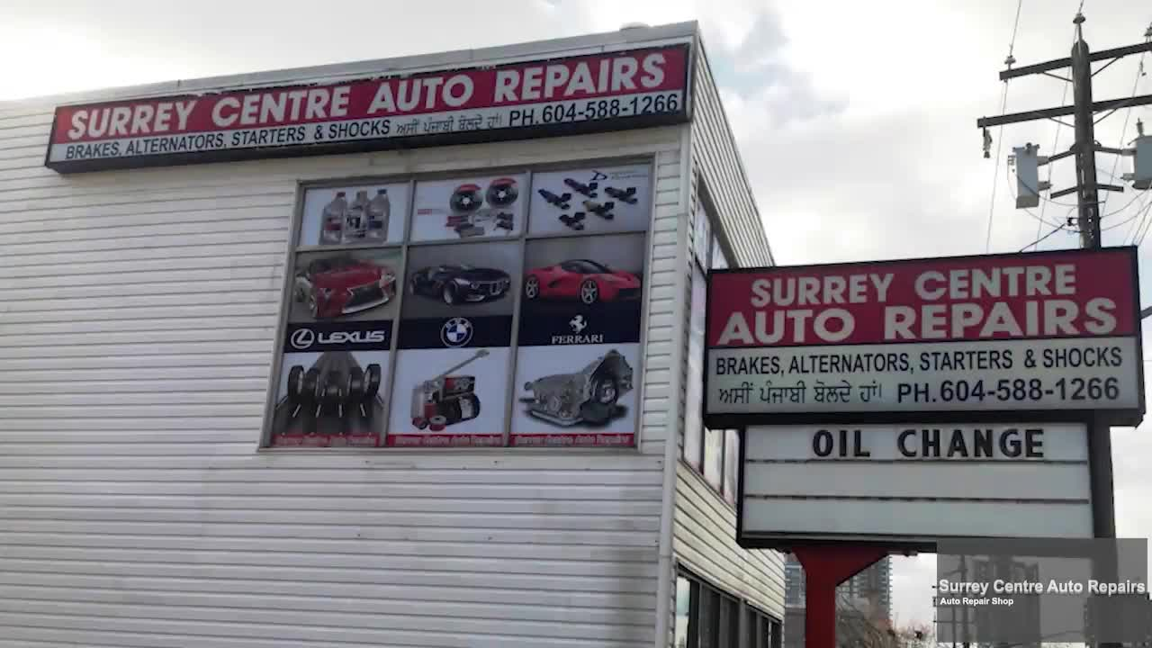 Surrey Centre Auto Repair Ltd - Auto Repair Garages - 604-588-1266