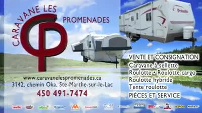 Caravane Les Promenades - Vidéo 1