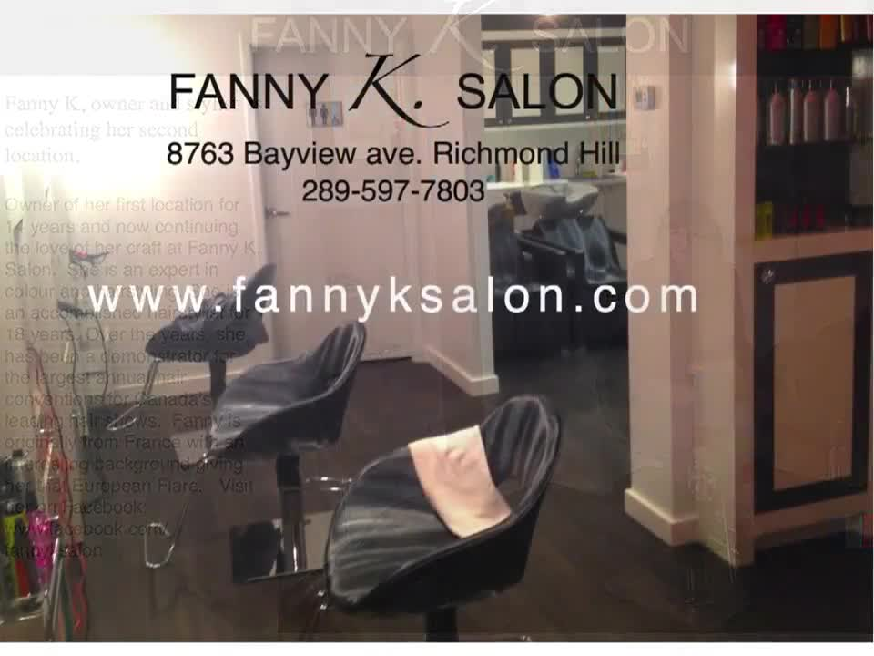 Fanny K Salon - Hairdressers & Beauty Salons - 289-597-7803