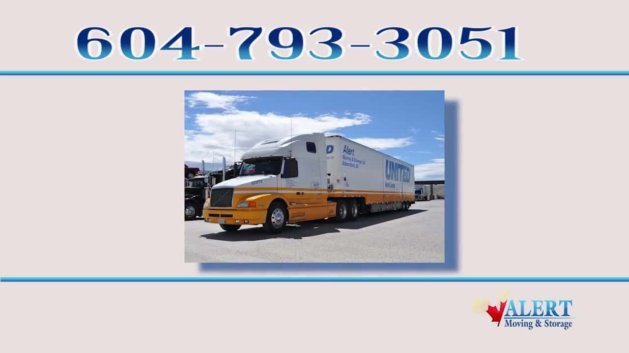 Alert Moving & Storage - Member Of United Van Lines - Moving Services & Storage Facilities - 604-793-3051