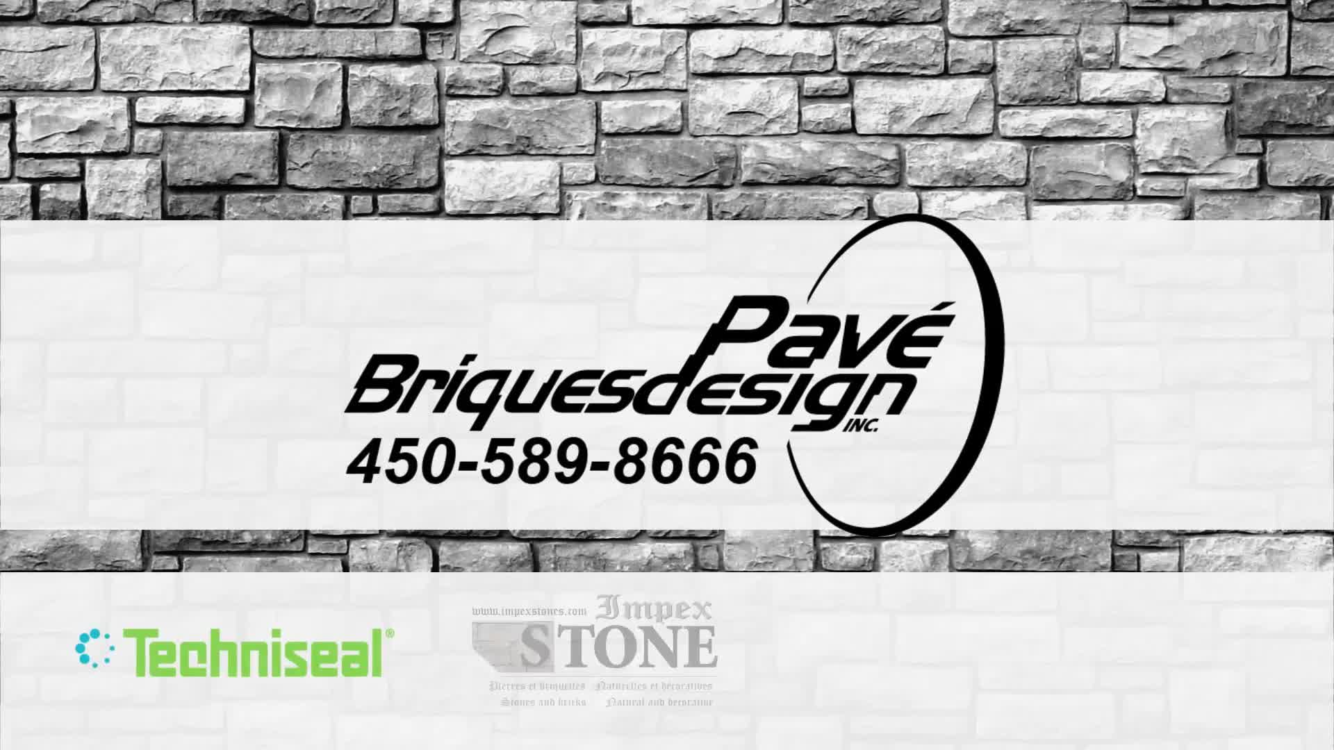 Pave Briques Design Inc - Video 1