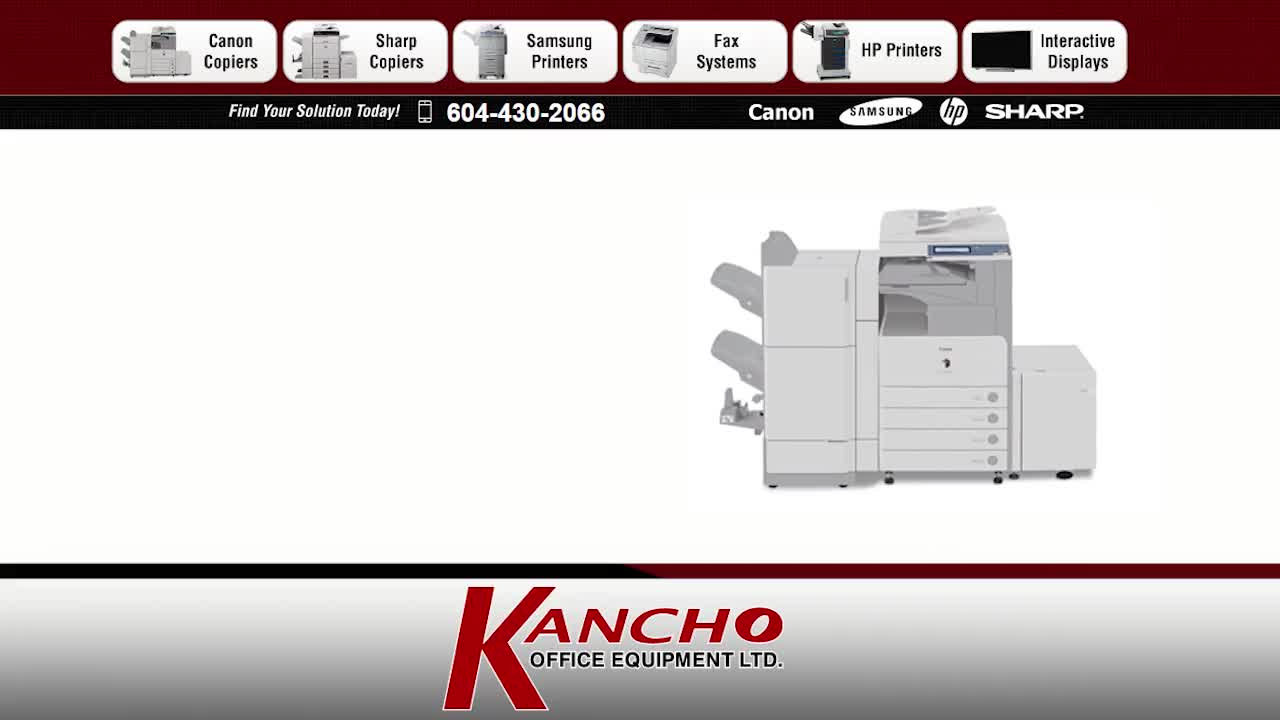 Kancho Office Equipment Ltd - Office Furniture & Equipment Service - 604-430-2066