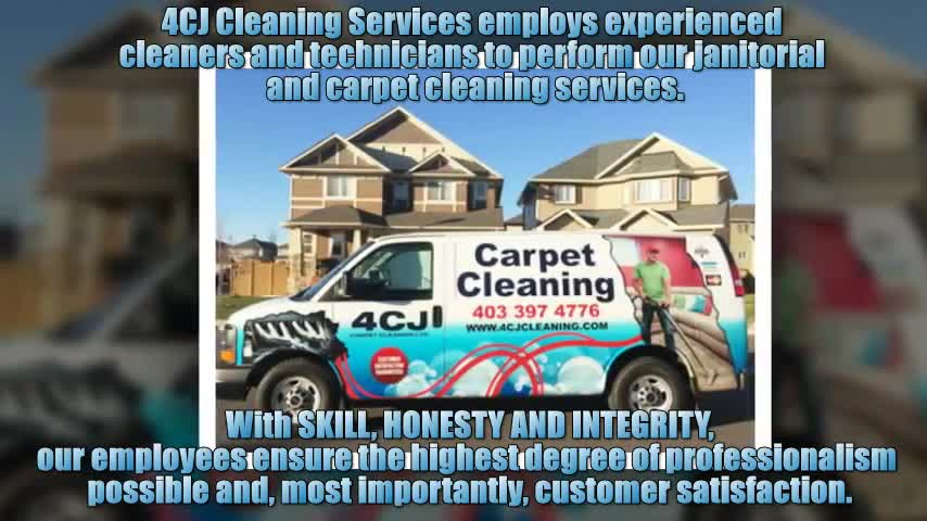 4CJ Cleaning Services - Carpet & Rug Cleaning - 403-397-4776