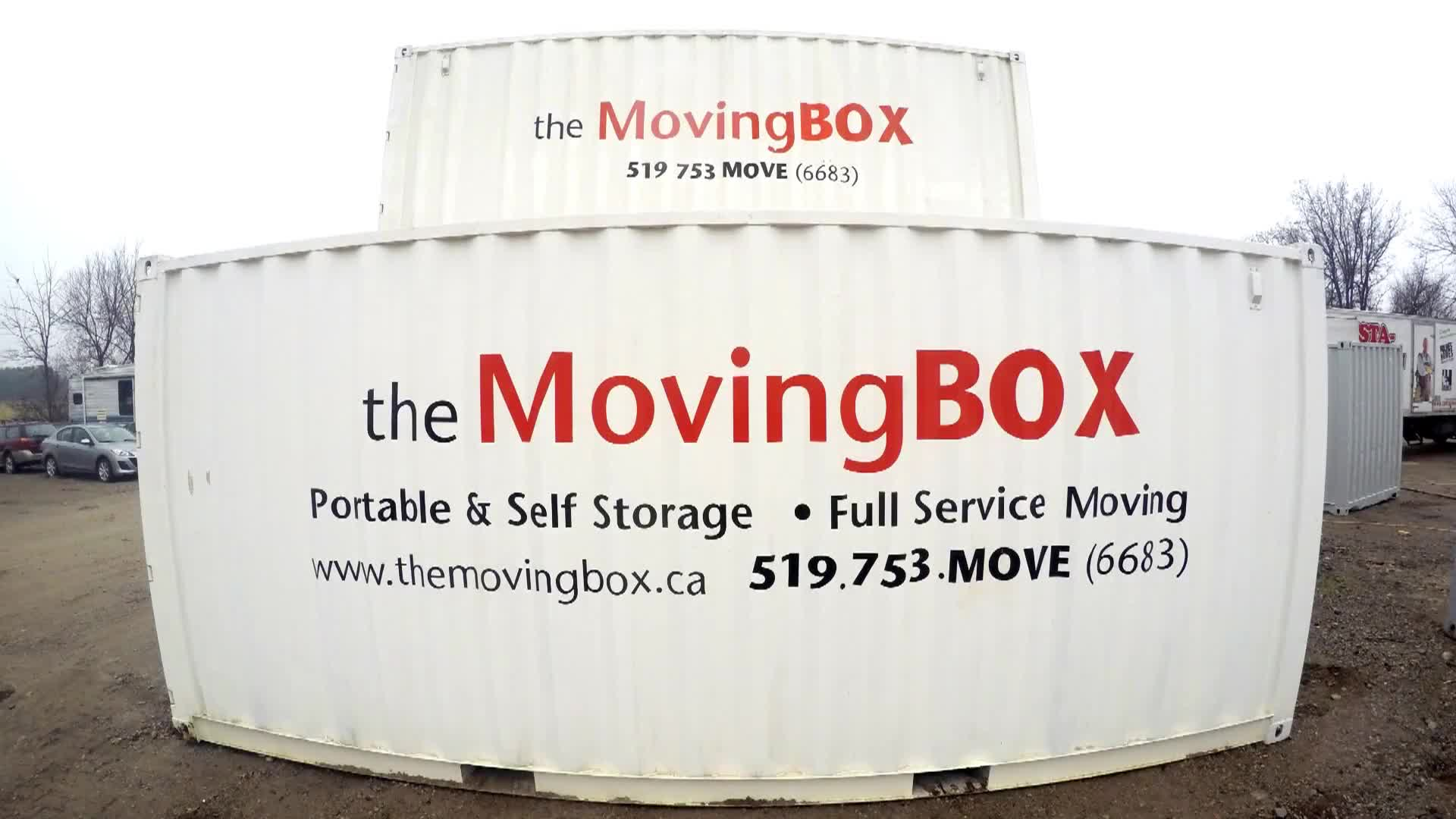 The Moving Box - Storage, Freight & Cargo Containers - 1-866-650-6683