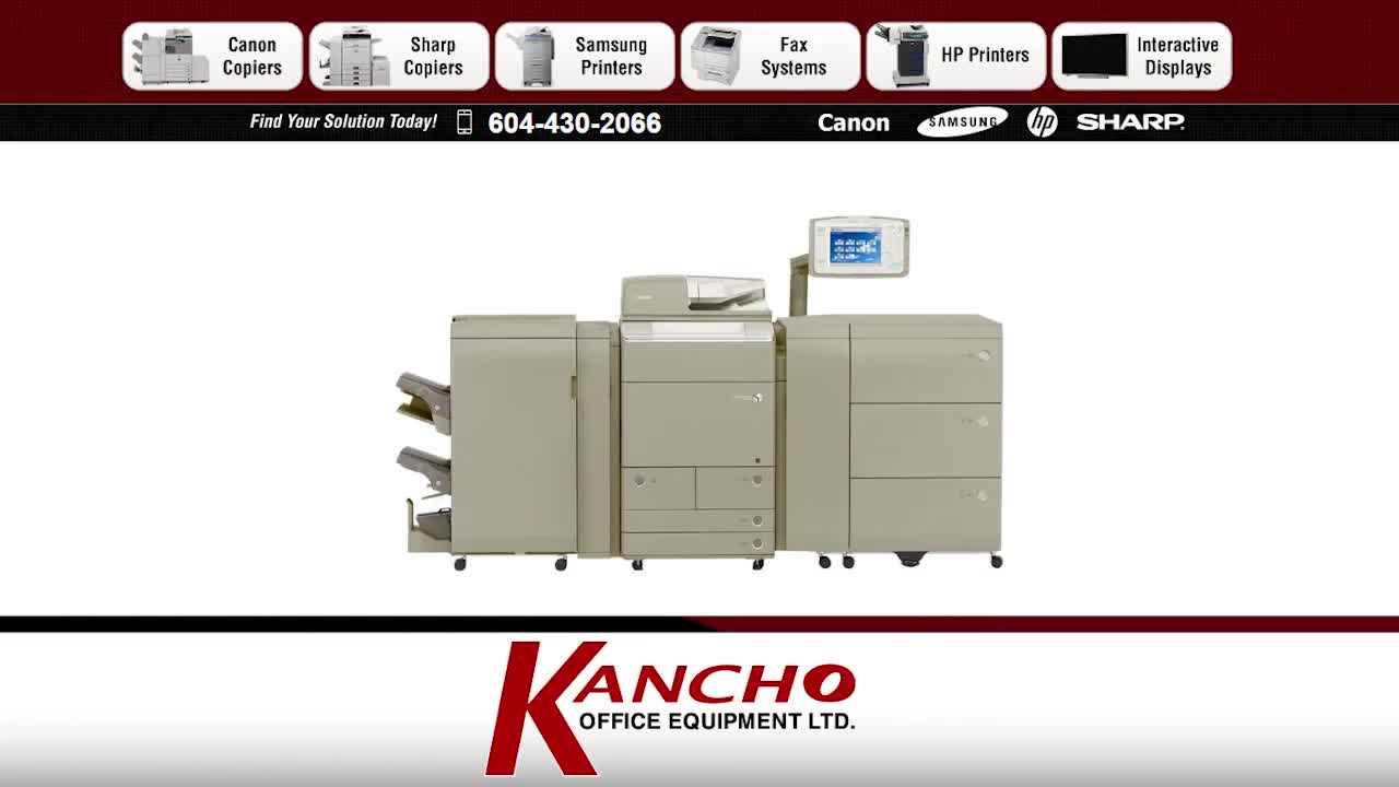 Kancho Office Equipment Ltd - Photocopiers & Supplies - 604-430-2066