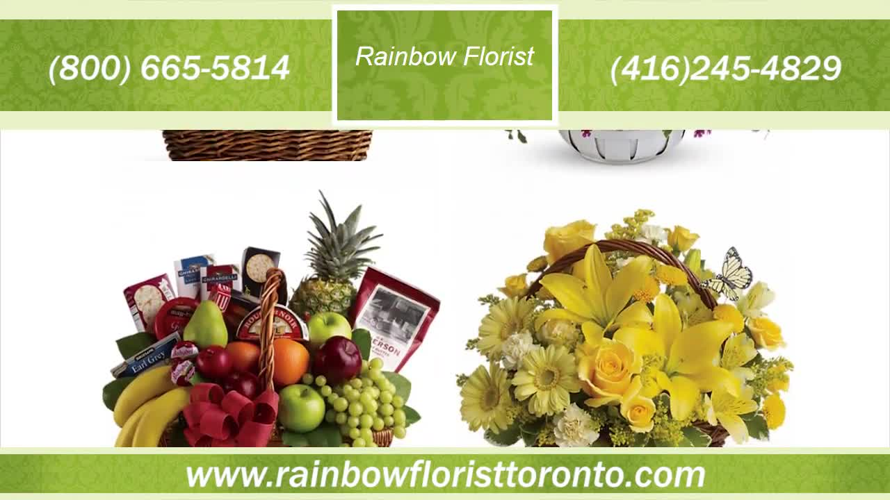 Rainbow Florist - Florists & Flower Shops - 416-245-4829