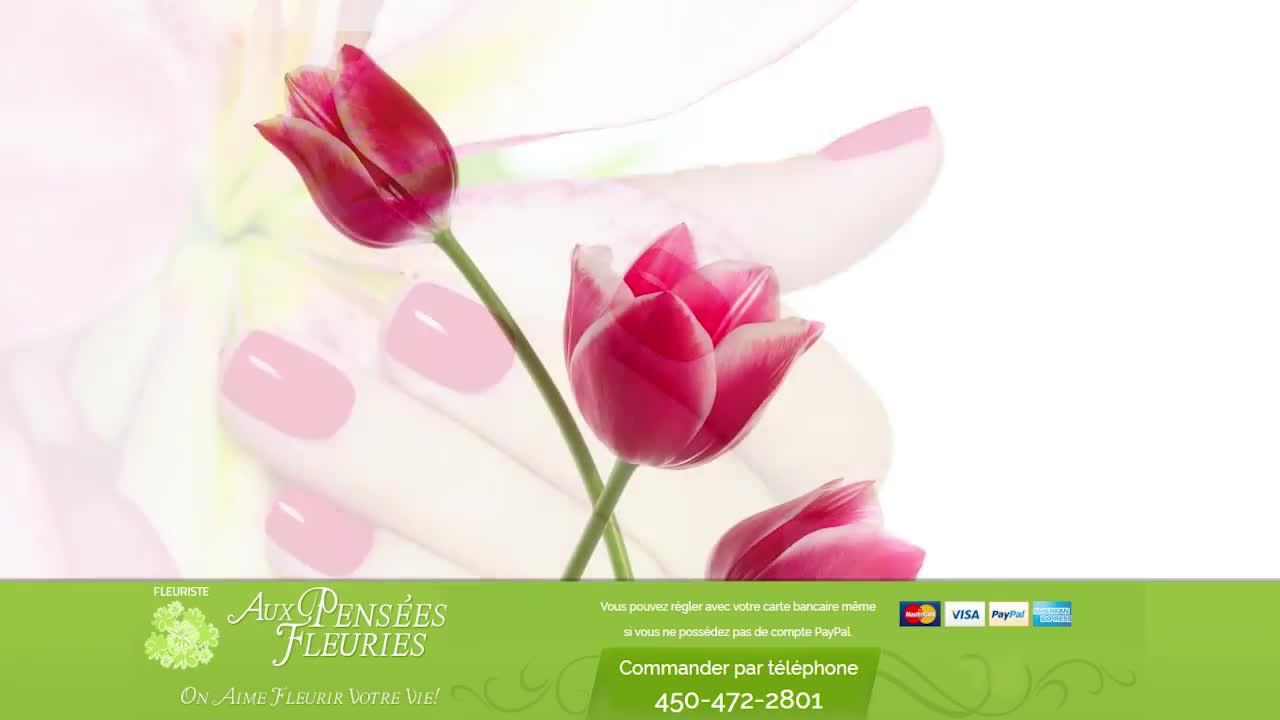 Fleuriste Aux Pensées Fleuries - Fleuristes et magasins de fleurs - 450-472-2801
