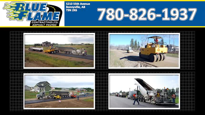 Blue Flame Contracting Ltd - Paving Contractors - 780-826-1937