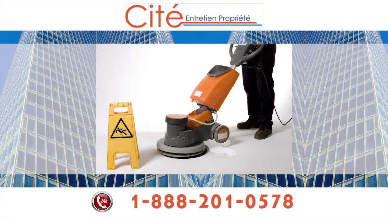Cité Entretien Propriété Inc - Nettoyage résidentiel, commercial et industriel - 514-647-7421