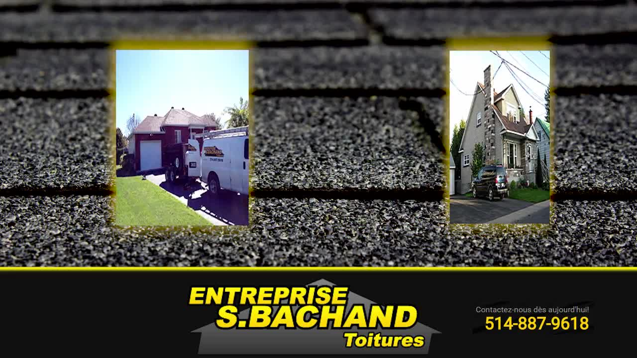 Entreprise S Bachand - Couvreurs - 514-887-9618