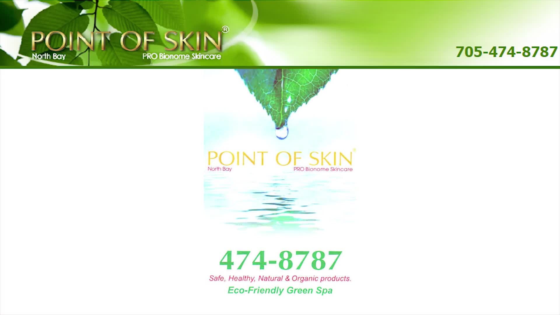 Point of Skin - Beauty & Health Spas - 705-474-8787