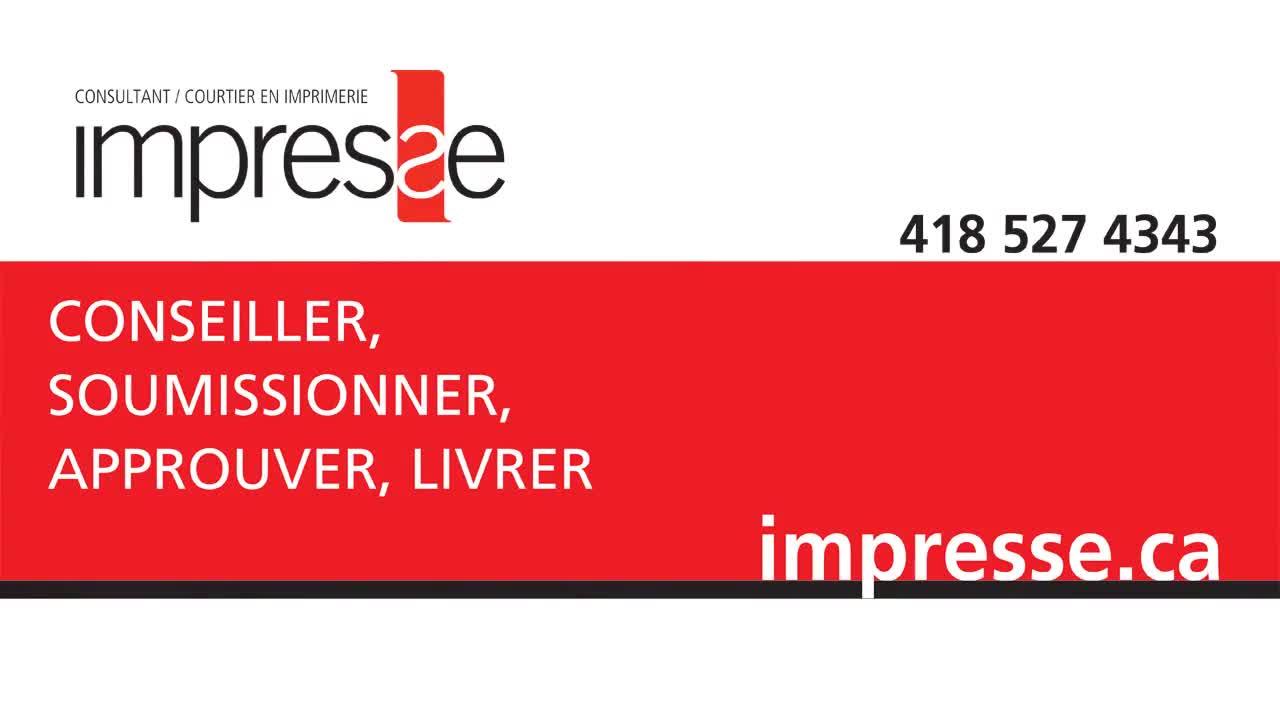 Impresse Inc - Imprimeurs - 418-527-4343