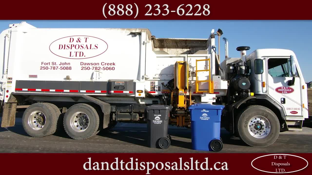D & T Disposals Ltd - Residential Garbage Collection - 250-787-5088