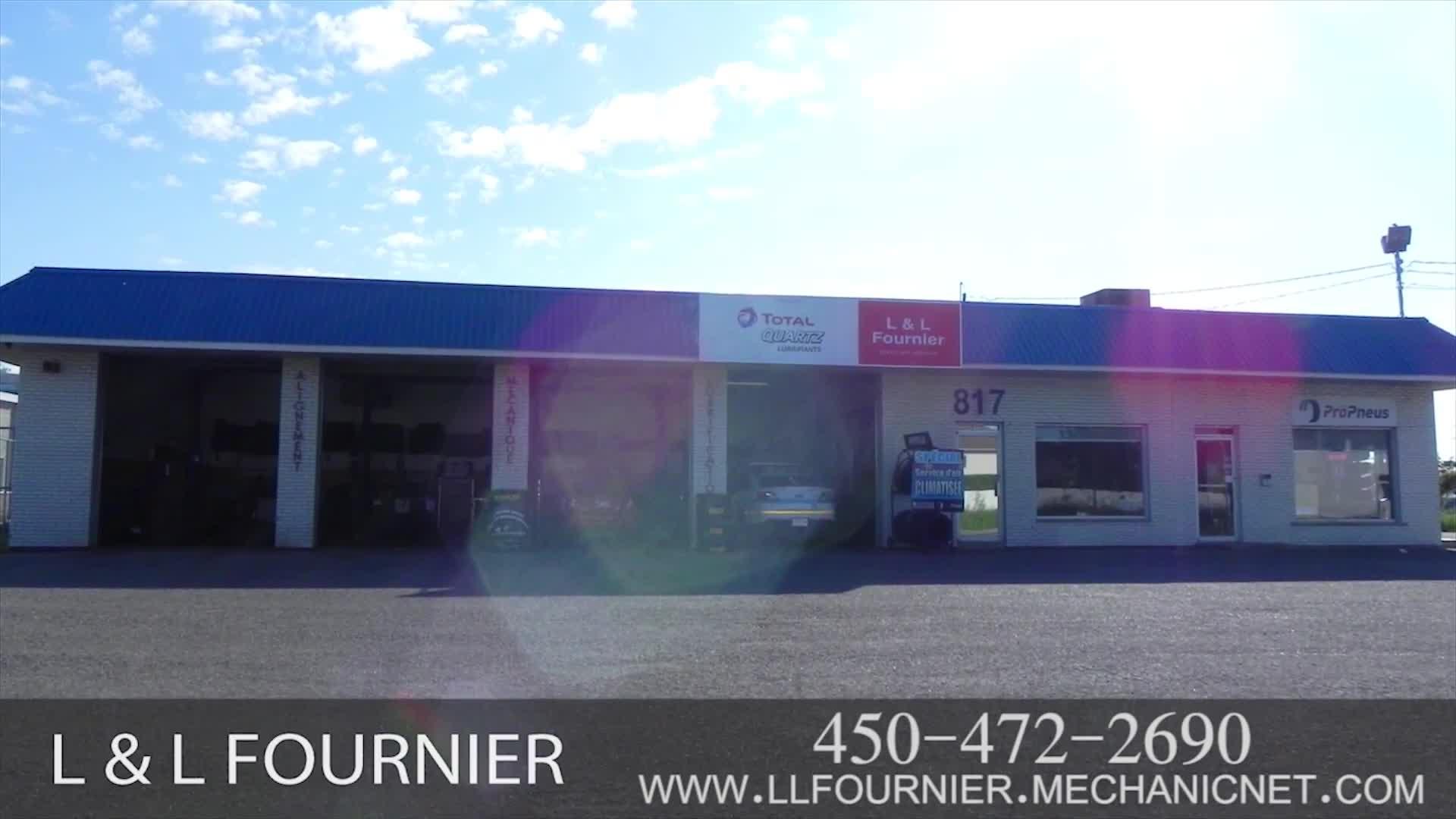 Centre LL Fournier - Garages de réparation d'auto - 450-472-2690