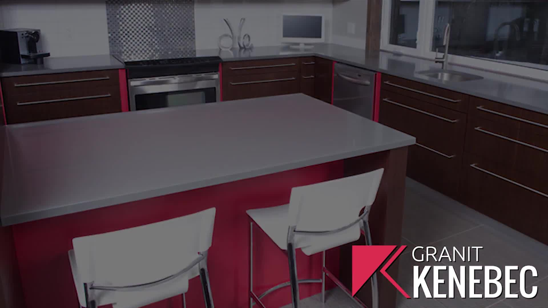 Kenebec Granit - Armoires de cuisine - 819-829-9542