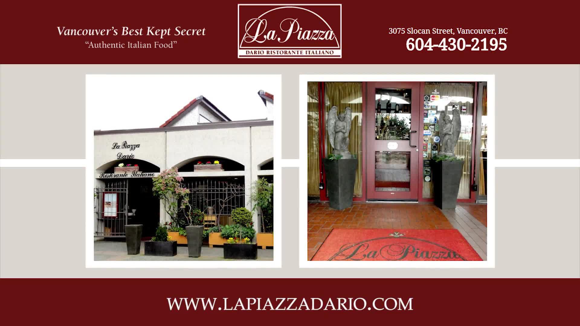 La Piazza Dario Restaurante Italiano - Restaurants - 604-430-2195