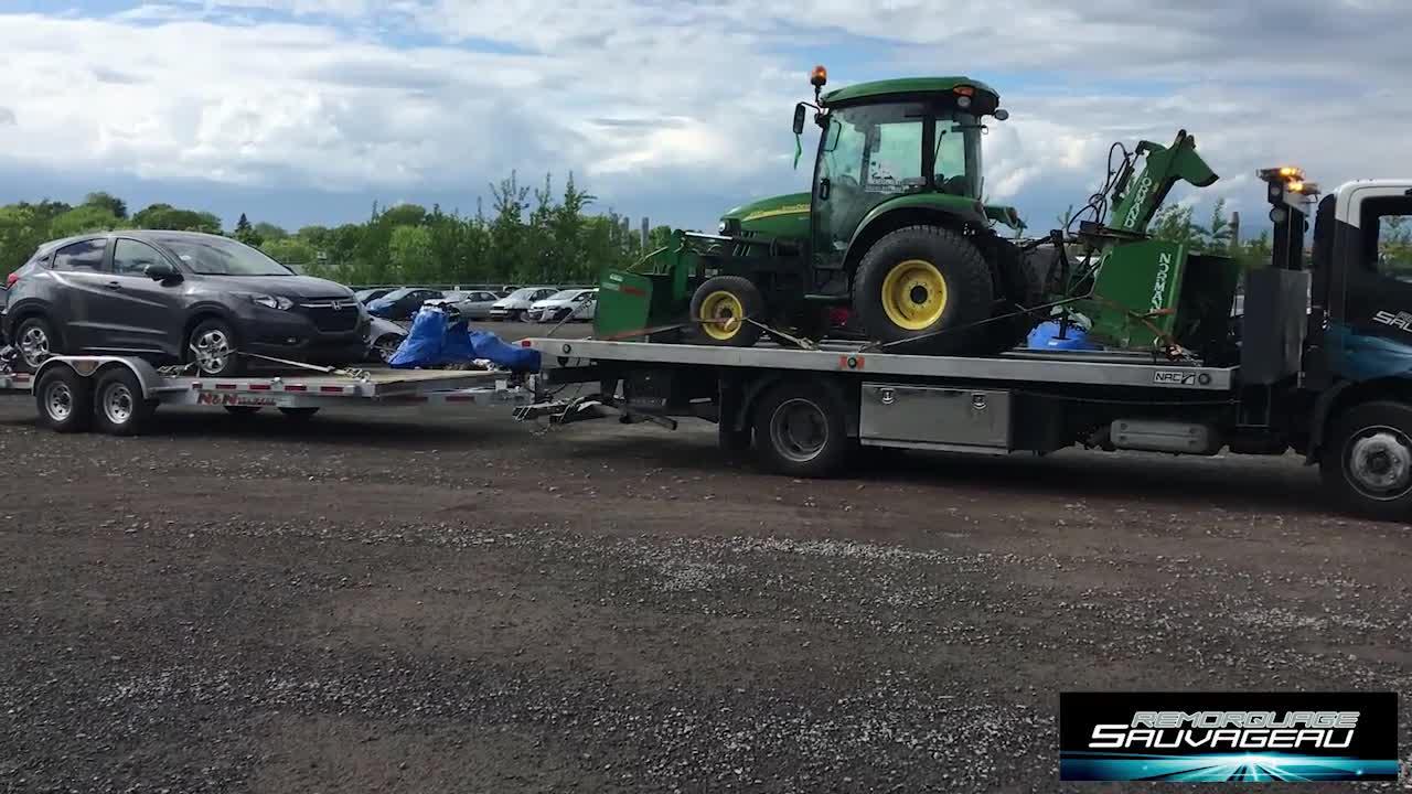 Remorquage Sauvageau - Remorquage de véhicules - 514-247-9715