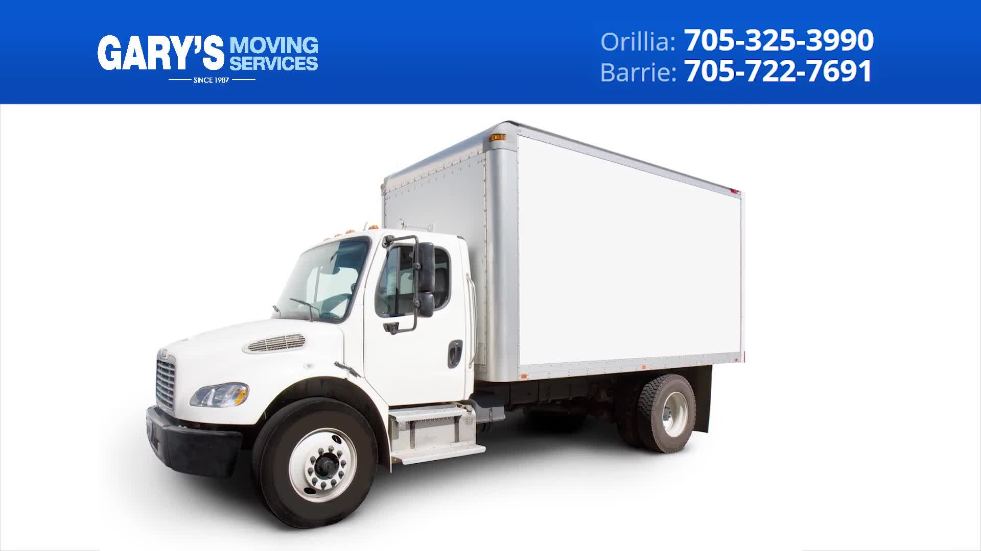 Gary's Moving Services - Self-Storage - 705-325-3990