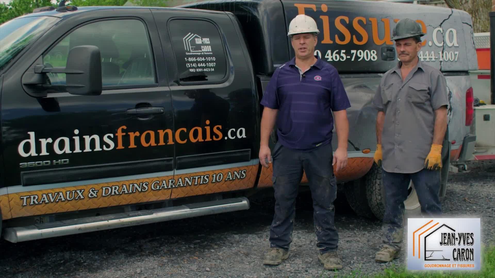 Drains Français.ca - Drainage Contractors - 514-444-1007