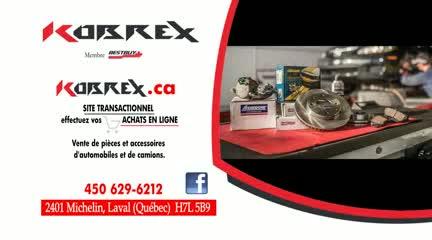Kobrex Pièces d'Autos - New Auto Parts & Supplies - 450-629-6212