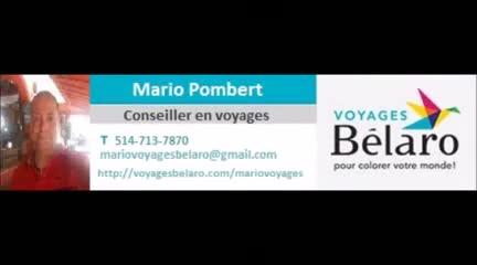 Mario Voyages Conseiller en voyages externe chez Voyages Bélaro - Agences de voyages - 514-713-7870