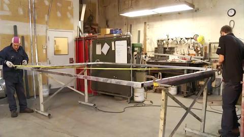 Cabine à Peinture Laflamme Air Libre - Vidéo 1