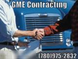 GME Contracting Ltd - Snow Removal - 780-963-3572