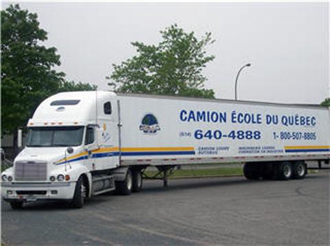Camion Ecole du Québec - Formateurs et conseillers en formation - 514-640-4888
