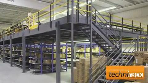 Systèmes D'Entreposage Technirack - Vidéo 1