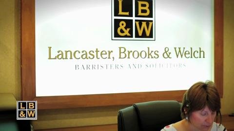 Lancaster Brooks & Welch LLP - Video 1