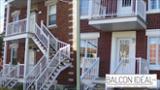 Balcon Idéal Inc - Portes et fenêtres - 514-765-0654