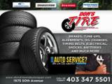 Don's Tire & Automotive Repair Ltd - Tire Retailers - 403-347-5501