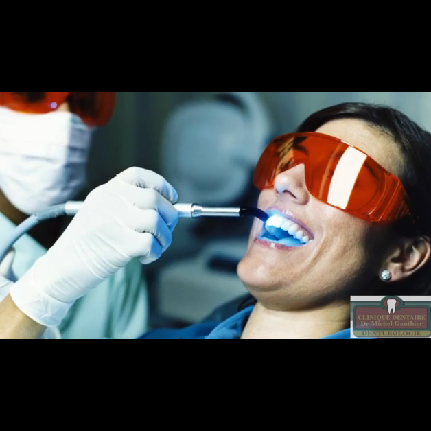 Clinique Dentaire Michel Gauthier - Traitement de blanchiment des dents - 450-771-7475
