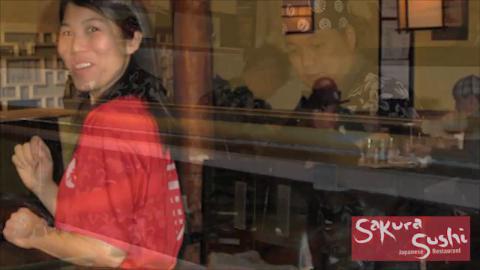 Golden Sakura Sushi Japanese Restaurant - Video 1