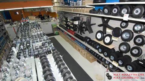 Centre de Distribution de Roulettes & Glissoires M A T - Vidéo 1