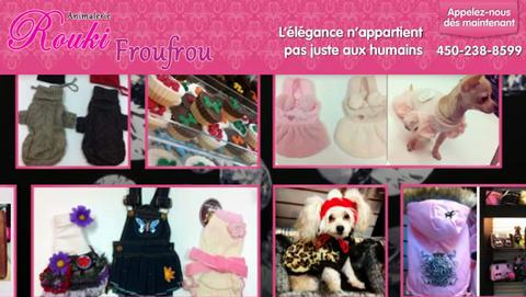 Animalerie Rouki Froufrou - Vidéo 1