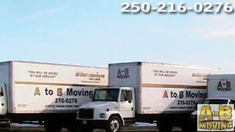 A To B Moving - Moving Services & Storage Facilities - 250-216-0276