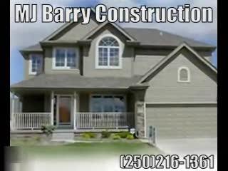 View MJ Barry Construction's Sooke profile
