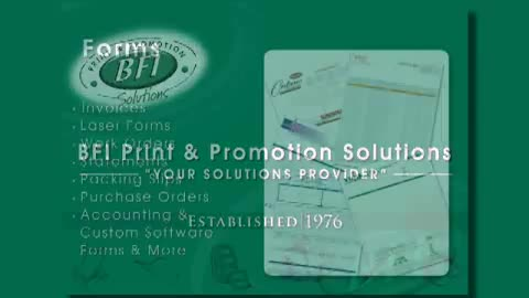 View BFI Print & Promotion Solutions's Thorndale profile