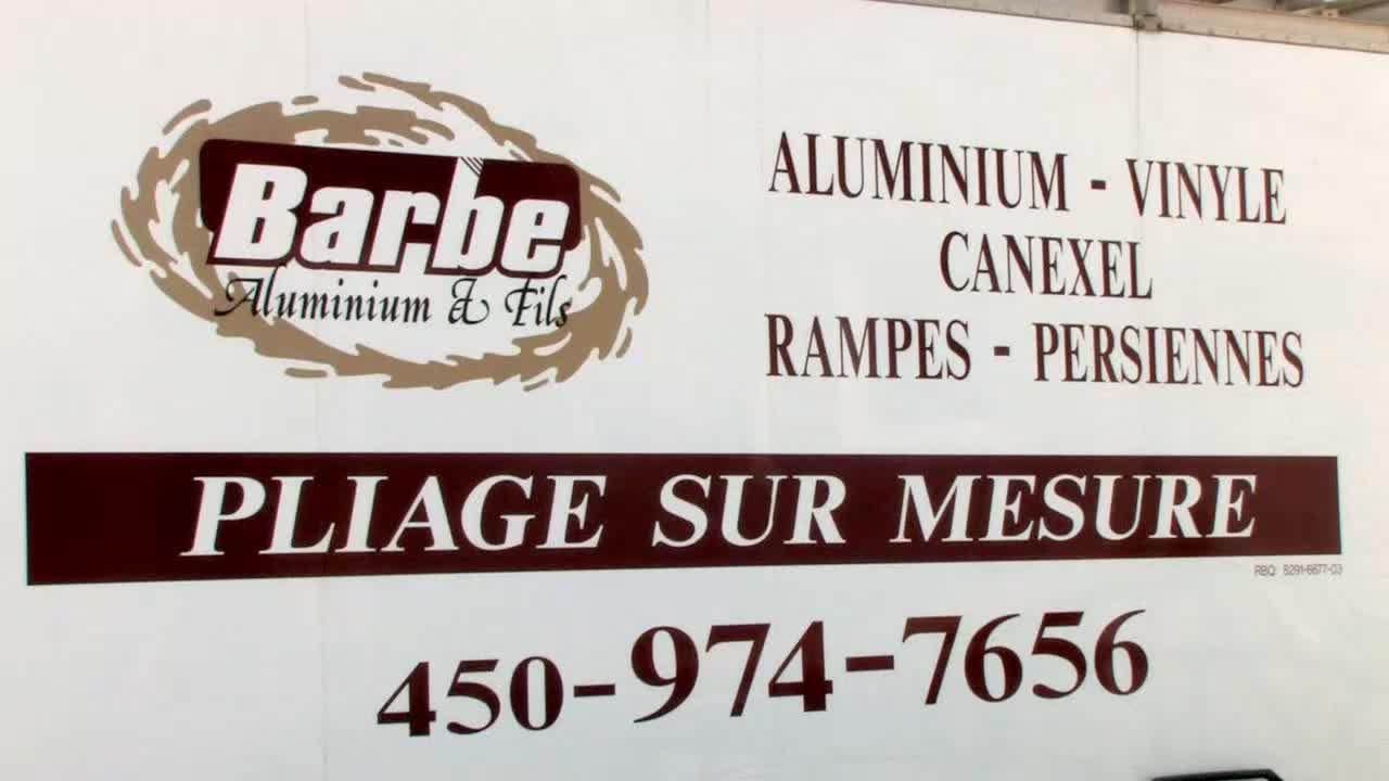 Barbe Aluminium Et Fils Inc - Aluminium - 450-974-7656