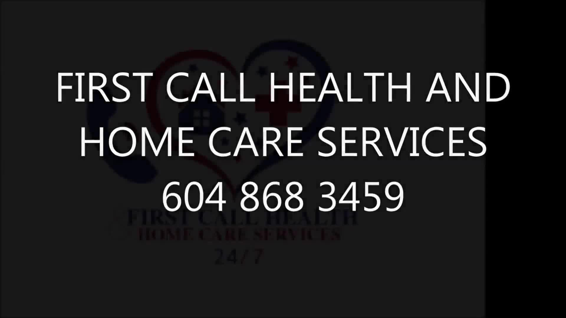 First Call Health and Home Care Services - Surrey, BC ...