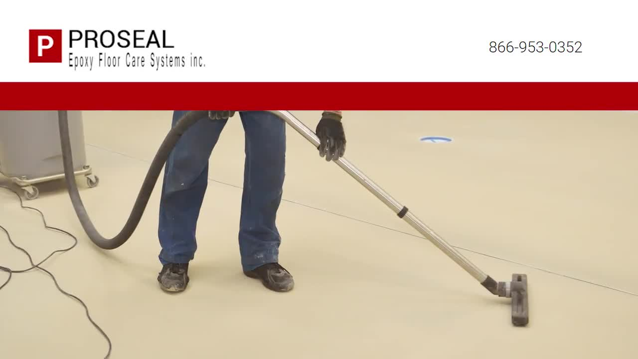 video Proseal Epoxy Floor Care Systems Inc