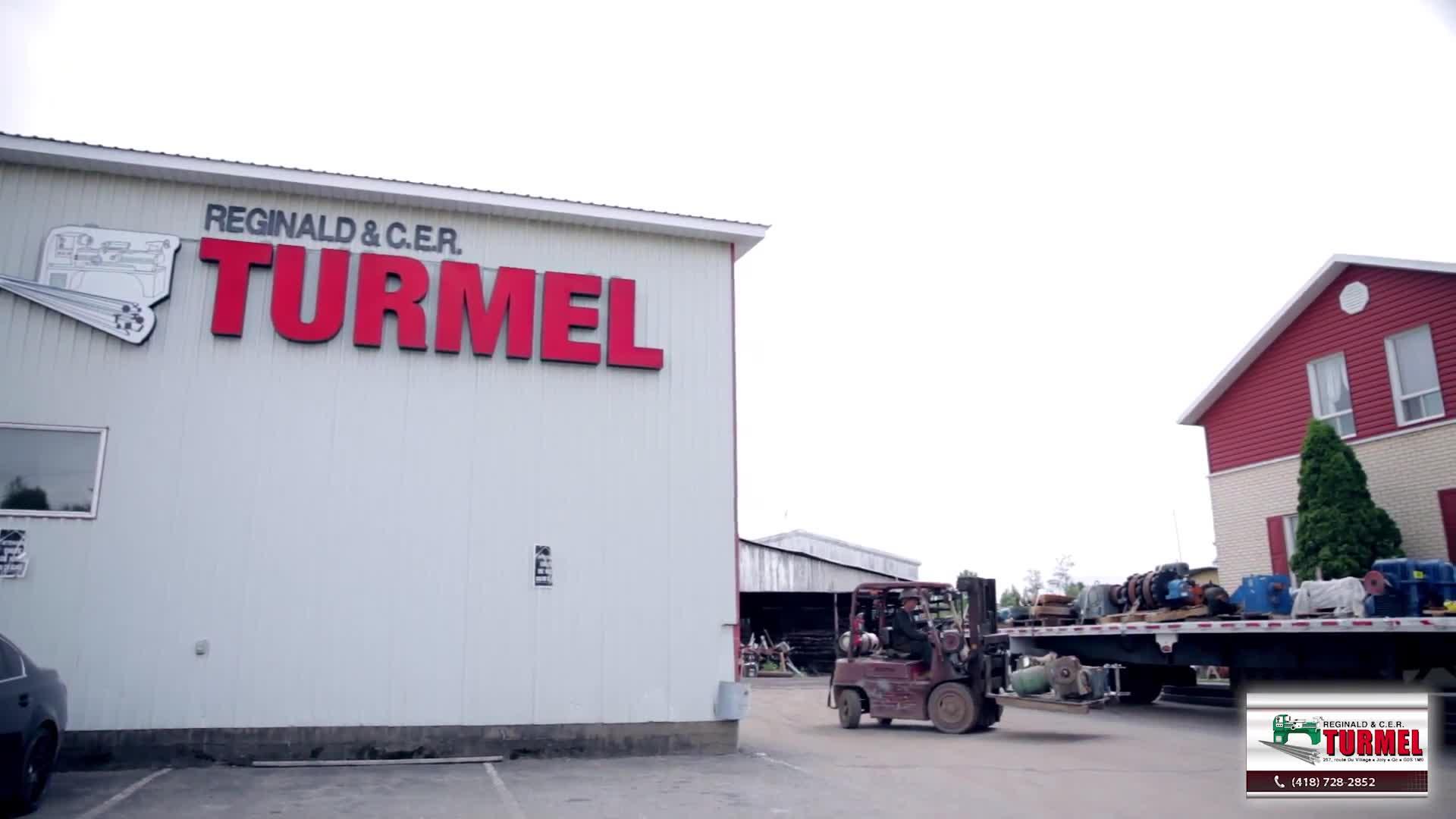 Reginald Et C. E. R. Turmel - Distributeurs et entrepôts d'acier - 418-728-2852