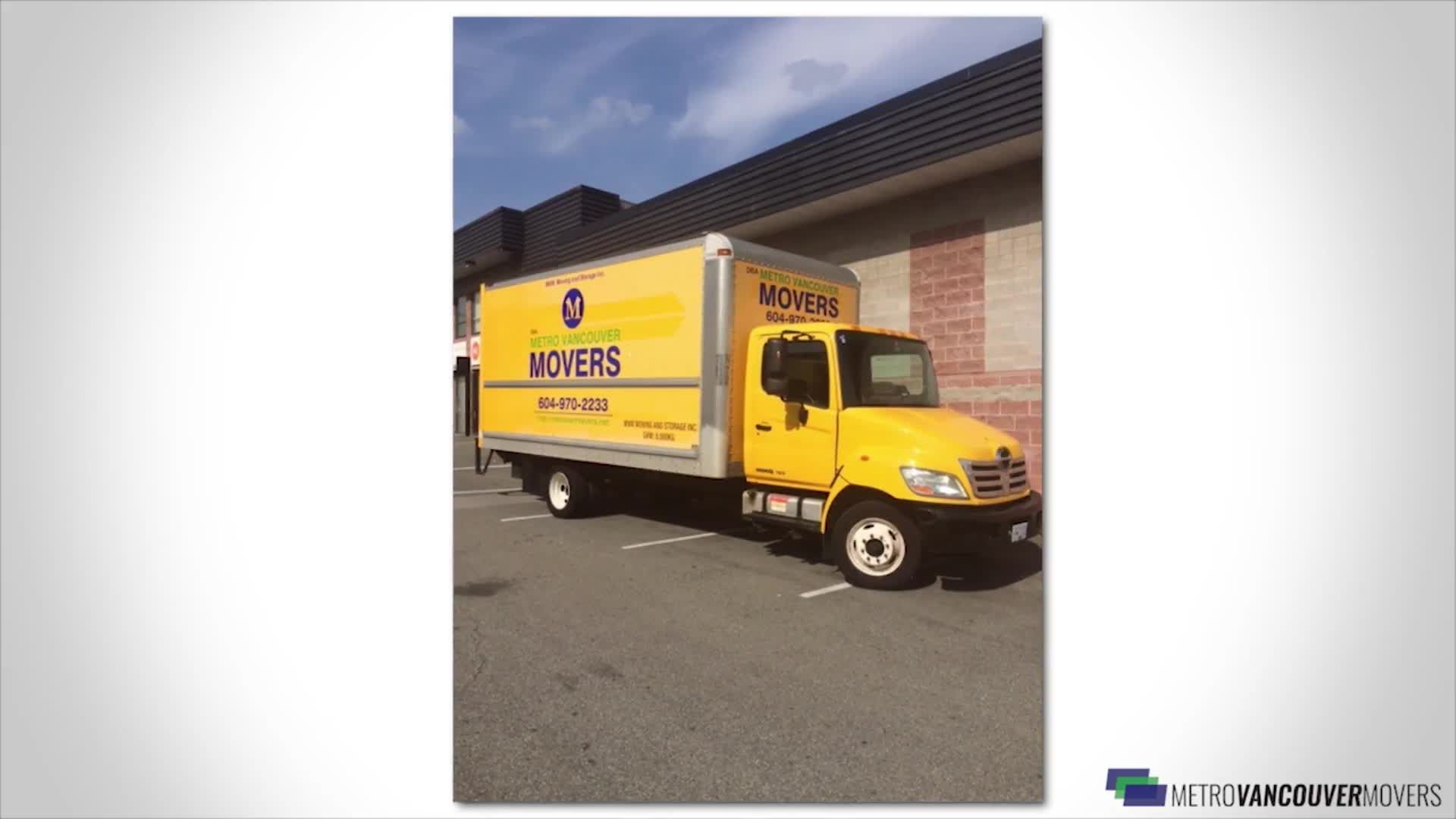 Metro Vancouver Movers - Moving Services & Storage Facilities - 604-970-2233