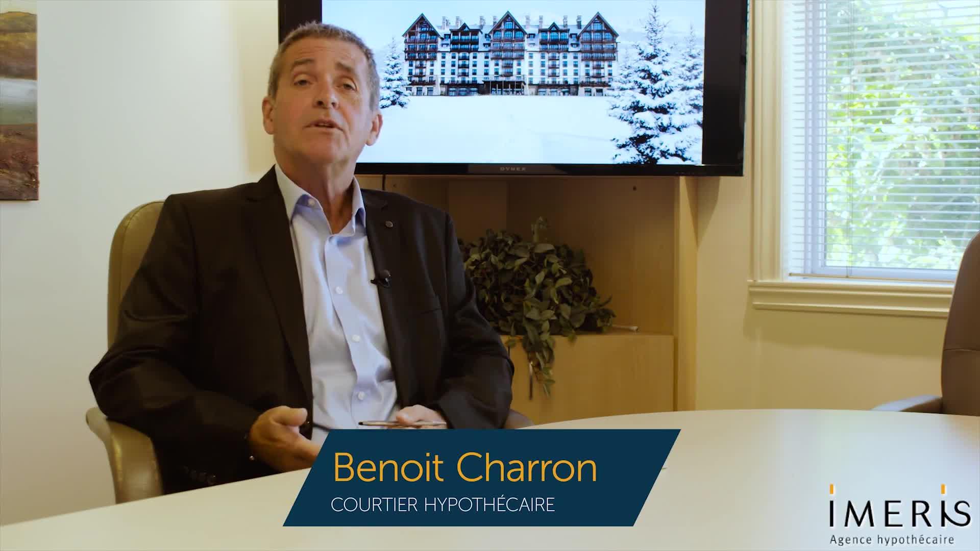 Benoit Charron Courtier Hypothécaire Imeris - Courtiers en hypothèque - 5149846665